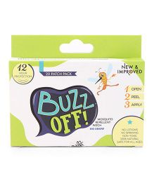 Buzz Off Mosquito Repellent Green - 20 Patches