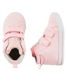 Carter's Printed Sneaker Shoes With Velcro - Pink