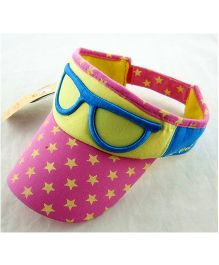 Little Cuddle Funky Glasses Sun Hat - Pink