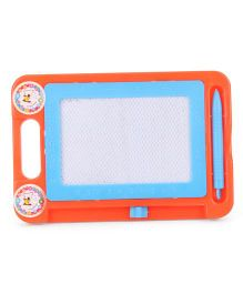 Drawing And Writing Board With Pen - Orange Blue