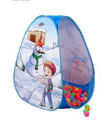 Playhood Snow Ball Pool House - Blue