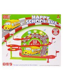 Emob Mega Speedway Magnetic And Musical Bus Track Set - Multicolour