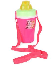 Jewel Cute Insulated Water Bottle Pink - 300 ml