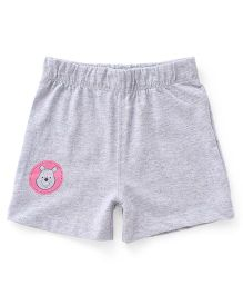 Disney by Babyhug Shorts Minnie Pooh Icon - Grey