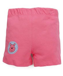 Disney by Babyhug Shorts Minnie Pooh Icon - Pink