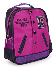 School Bag Purple - 12 inch
