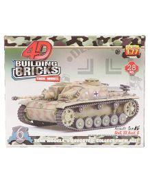 Collect Battle Tanks Series 1 Assault Gun Green - 28 Pieces