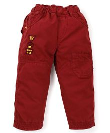 Olio Kids Full Length Trouser - Maroon