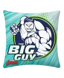 Uber Urban Cushion Hulk Print - Sea Green