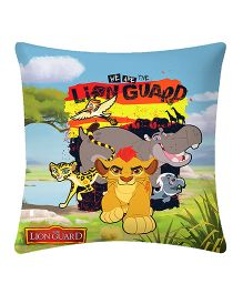 Uber Urban Cushion Lion Guard Print - Multi Color