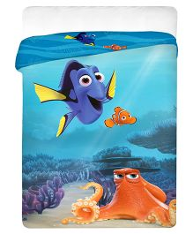 Uber Urban Single Size Comforter Finding Dory Print - Blue