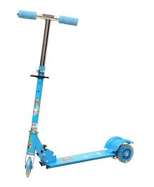 Wheel Power Scooter - Blue