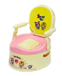 Harry & Honey Potty Chair 1803 - Pink Yellow Cream