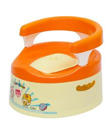 Harry & Honey Potty Chair 1802 - Orange Cream