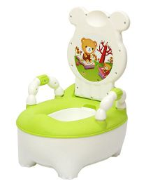 Harry & Honey baby Potty Chair HH8902 - Green White