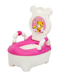 Harry & Honey baby Potty Chair HH8902 - Pink White