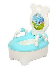 Harry & Honey baby Potty Chair HH8902 - Blue White