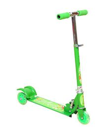 Wheel Power Scooter - Green