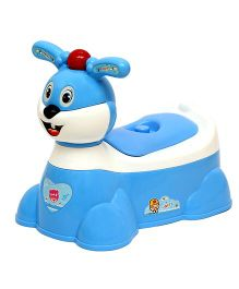 Harry & Honey Rabbit Musical Potty Chair - Blue White