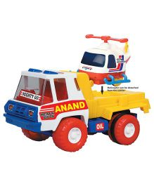 Anand Toy Helicopter Carrier - Multi-Color