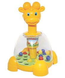 Anand Jumping Giraffe - Multi-Color