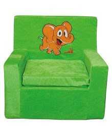Anand Baby Sofa Chair With Patch - Green
