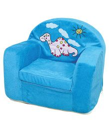Anand Baby Sofa Chair With Patch - Blue