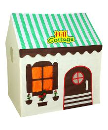 Anand Hill Cottage Play Tent - Green