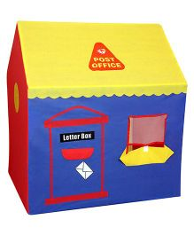 Anand Post Office Play Tent - Yellow And Blue