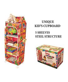 Anand Unique Cupboard 5 Shelf - Multi-Color