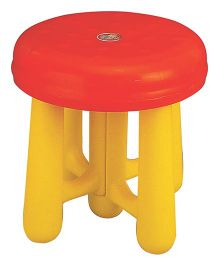 Girnar Seat - Red And Yellow (Colors May Vary)