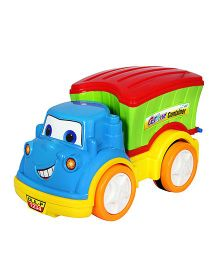 Amolak Toy Cartoon Container Truck - Multi Color