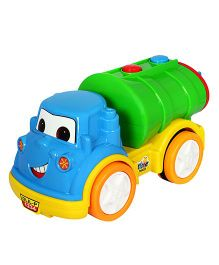 Amolak Toy Cartoon Oil Tanker - Multi-Color