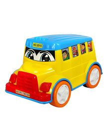 Amolak Toy Kiddie Bus - Multi-Color And Multi-Color