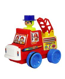 Deo Push N Go Mini Fire Brigade Toy - Multi-Color
