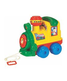 G Angad Tele Loco Pull Along Toy - Multi-Color(Colors May Vary)