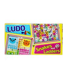 Kids Club Ludo Snake & Ladders - Multi Color