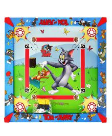 Kreative Kids 2 In 1 Carrom Board Tom & Jerry Print Multicolor - Medium