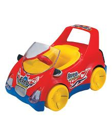 Super Aveo Car Toy - Red Yellow