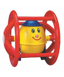 Super Humpty Dumpty Roller Rattle - Red Yellow