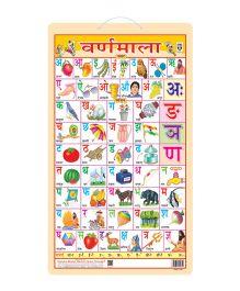 Hindi Alphabet Chart - Hindi
