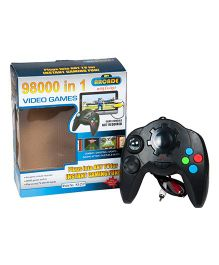 Magic Pitara 98000 in 1 Instant TV Video Games - Black