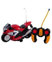 Magic Pitara Radio Control Motorcycle - Red