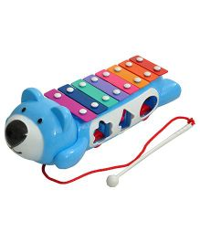 Magic Pitara Teddy Music Maker Xylophone - Blue