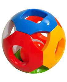 Magic Pitara Colorful Rattle Ball - Multi Color