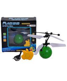 Magic Pitara Flashing Crystal Ball - Green