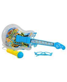 Magic Pitara Rock Show Guitar Set - Blue