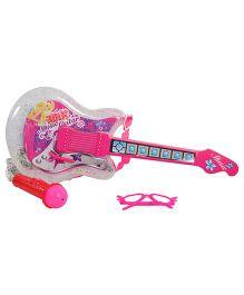 Magic Pitara Rock Show Guitar Set - Pink