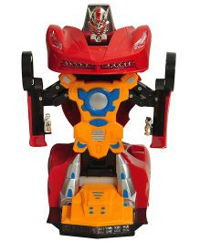 Magic Pitara 2 In 1 Transform Robot Car - Red
