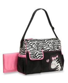 Magic Pitara Diaper Bag - Pink Black